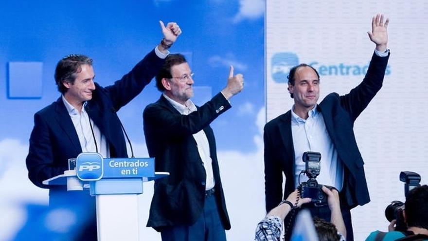 Mariano Rajoy participa este sábado en un mitín del PP en Santander