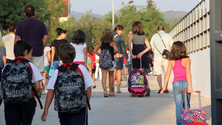 Las familias navarras gastarán 335 euros de media en la vuelta al colegio, según una encuesta de Irache
