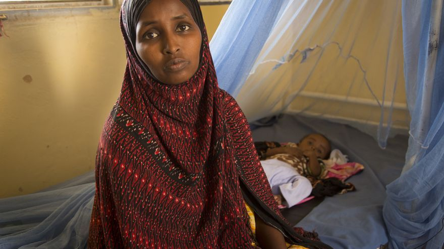 Foto de Khadra Dos días de peregrinaje para combatir el hambre