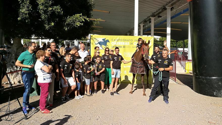 El caballo Mou The Special ha sido el ganador en la  modalidad de velocidad de la primera edición del Campeonato Insular de Carreras de Caballos.