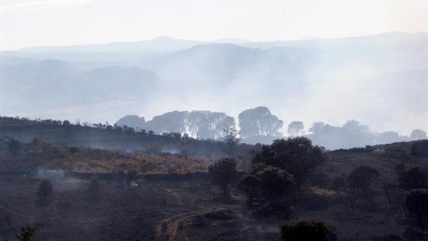 El fuego quema casi 100.000 hectáreas en 2017, el doble que el año pasado