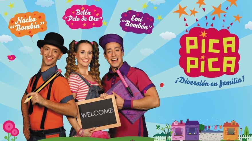 Cartel del espectáculo 'El patio de mi casa' a cargo del grupo 'Pica Pica'.