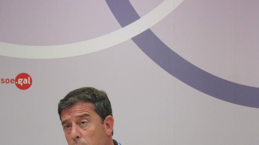 """Besteiro: """"Decidí hace tiempo ser candidato a la Xunta y en esa línea estoy"""""""