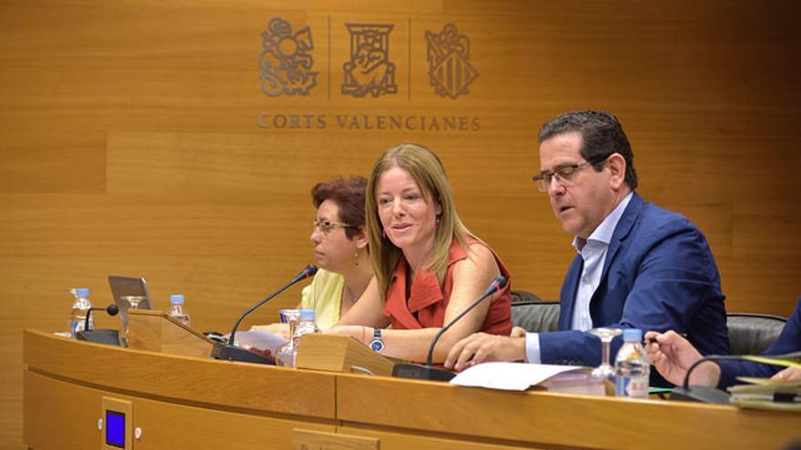 La secretaria autonómica de Hacienda, Clara Ferrando, en las Corts