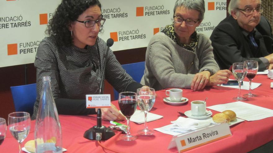 """ERC advierte de que la """"única opción viable"""" es una consulta sobre la independencia"""