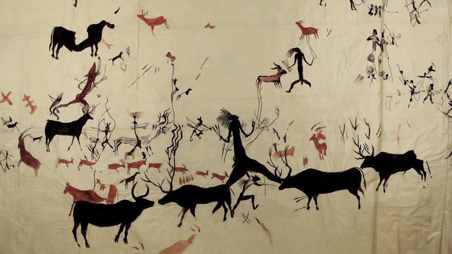 El Museo de Altamira exhibirá la colección de calcos de arte rupestre del Museo Nacional de Ciencias Naturales