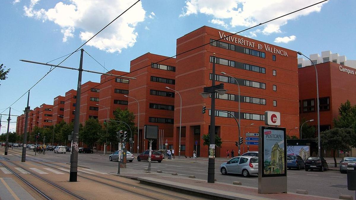 Campus de Tarongers de la Universitat de València.