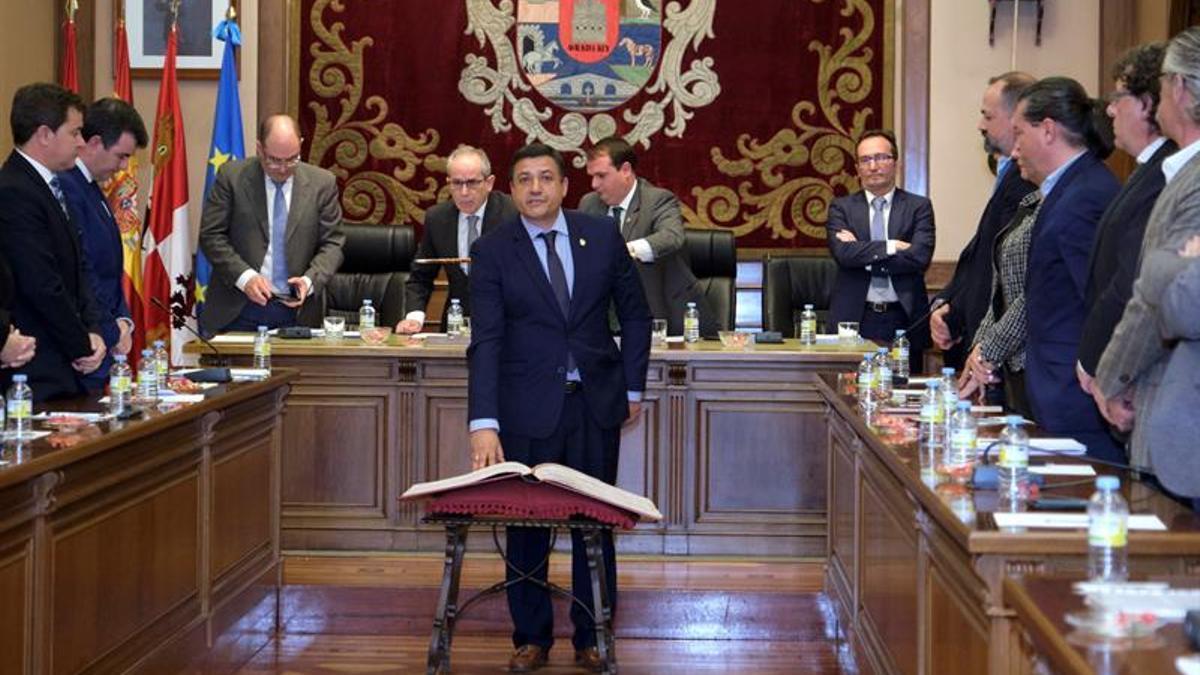 Carlos García (PP),presidente de la Diputación de Ávila.