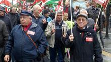 CCOO, UGT y FOAM vuelven a movilizarse este domingo en Andalucía por las pensiones