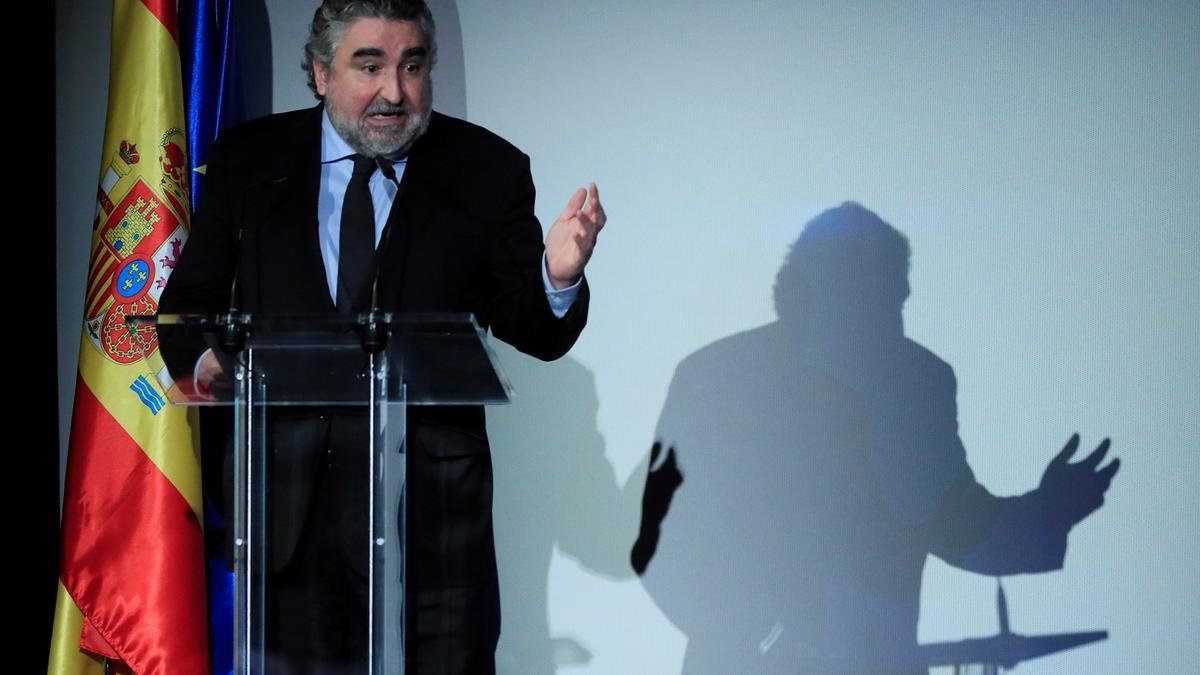 El ministro de Cultura, José Manuel RodríguezUribes. EFE/ Fernando Alvarado