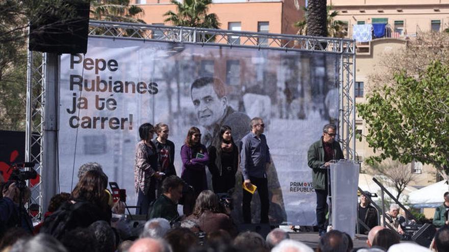 Acto de rebautizo de la calle Pepe Rubianes
