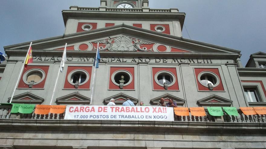 Los trabajadores de Navantia Ferrol intensificarán sus protestas