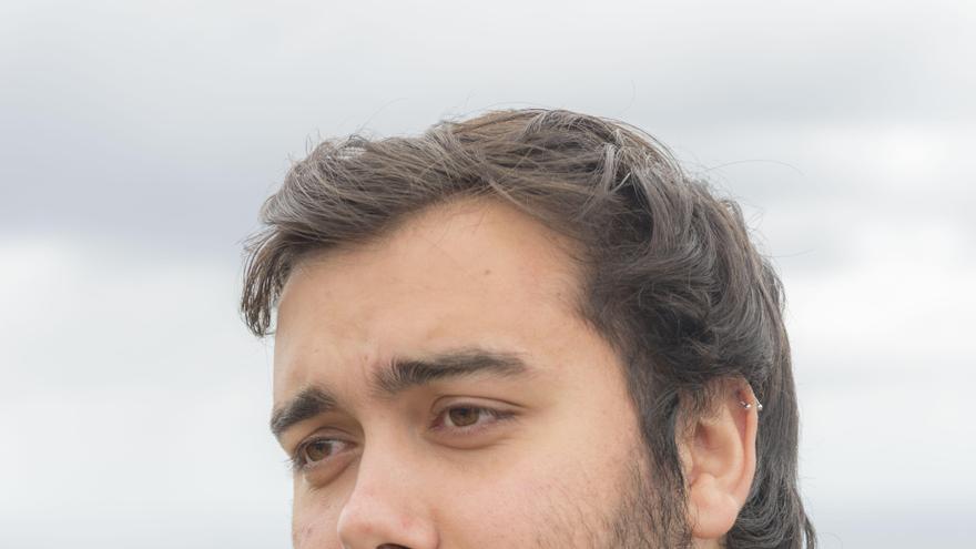 Sergio Siverio, integrante de la asociación LGTBI+ Diversas, radicada en el Valle de La Orotava