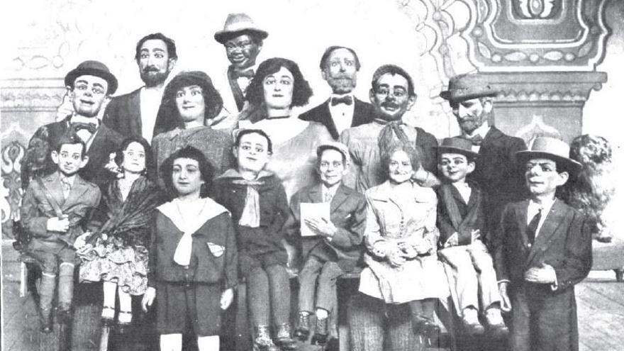 Espectáculos Sanz estaba compuesto por 30 autónomos y un humano: el ventrílocuo Francisco Sanz
