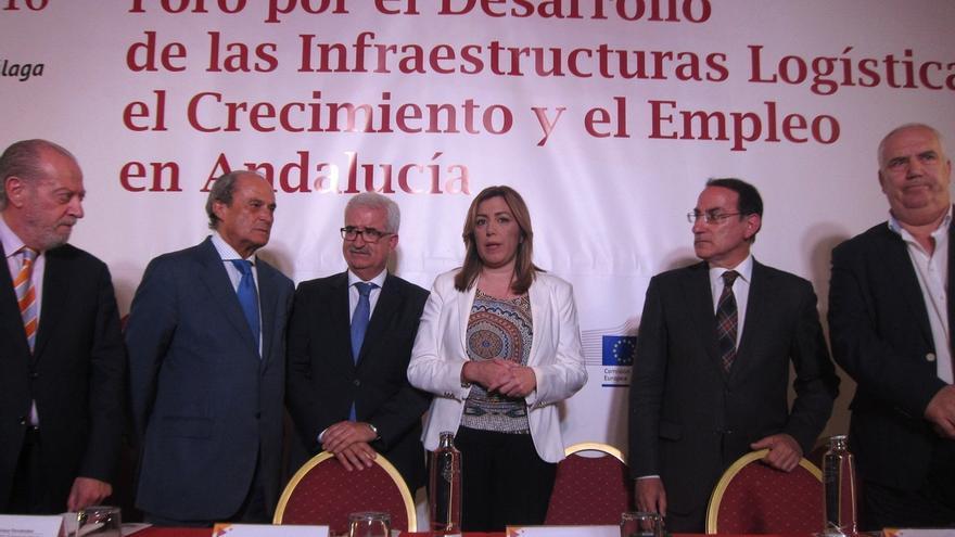 Junta, patronal, sindicatos y municipios se unen para impulsar las infraestructuras logísticas andaluzas