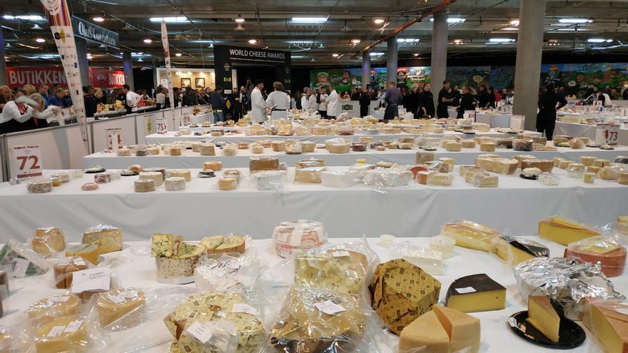 Concurso World Cheese Awards 2018.