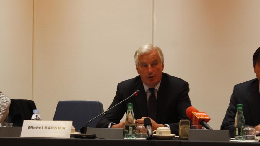 """Barnier quiere que el BCE """"tenga la última palabra"""" en la supervisión bancaria y en la imposición de sanciones"""