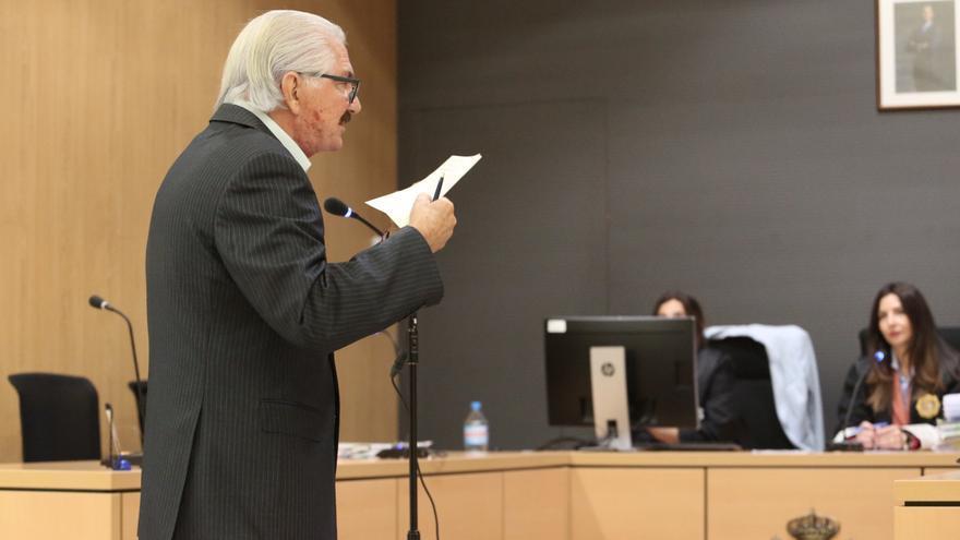 José Miguel Suárez Gil, en el juicio celebrado el pasado 13 de noviembre. (ALEJANDRO RAMOS)