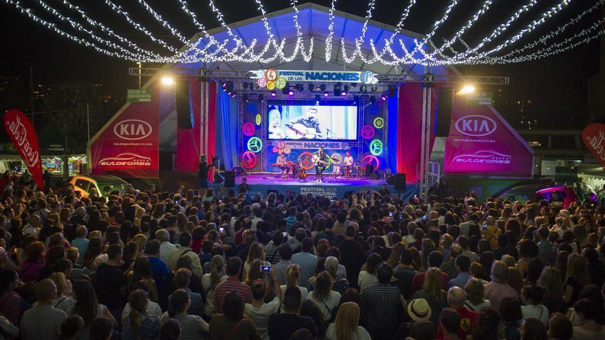Archivo -    El Festival Intercultural de Santander