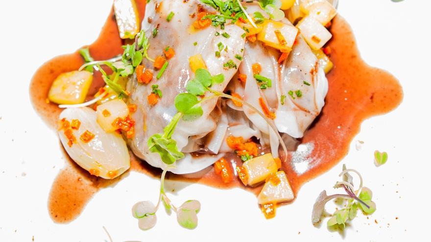Uno de los platos elaborados por los restaurantes participantes