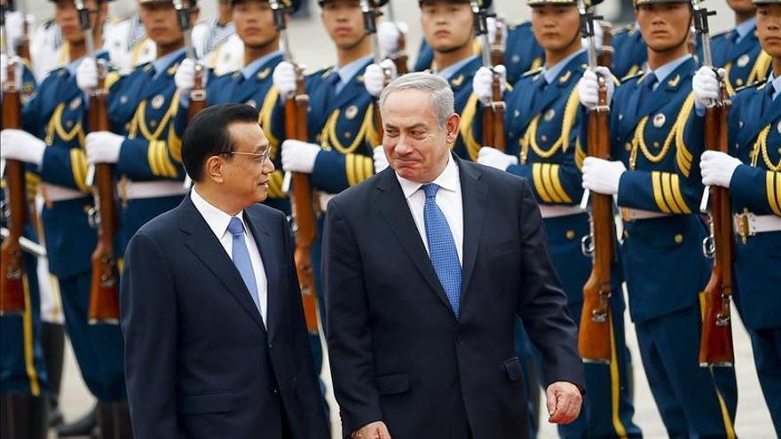 Siria en segundo plano durante la visita a Pekín del primer ministro israelí