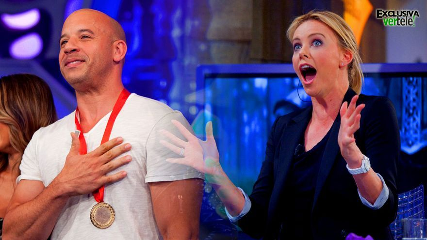 Vin Diesel / Charlize Theron en 'El Hormiguero'