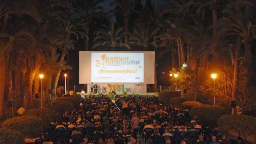 Una de las proyecciones del Festival de Cine de Elche