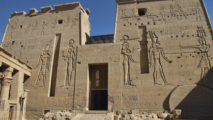 Pilonos del famoso Templo de Isis. Dan Lundberg (CC)