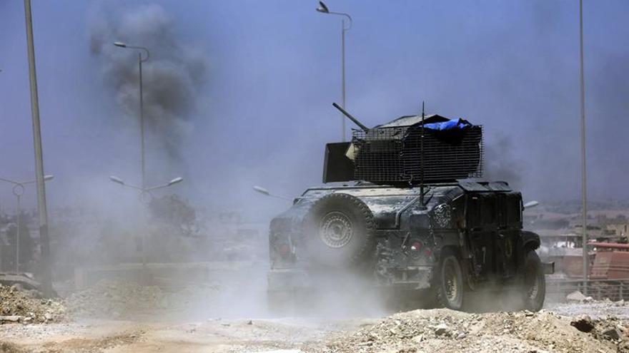 Fuerzas iraquíes arrebatan al EI uno de los últimos barrios de Mosul