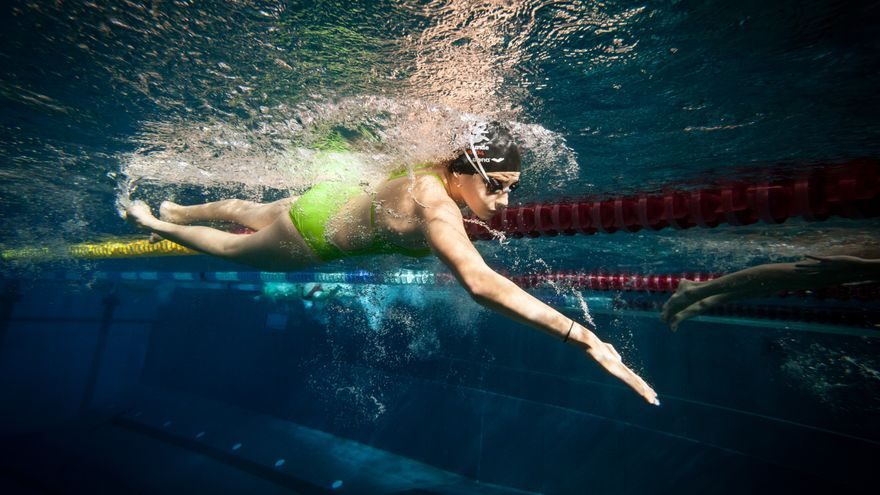 Yusra Mardini, 17 años. Huyó de Siria a Alemania. Se prepara para participar como nadadora en los JJOO de Río 2016   FOTO: Acnur