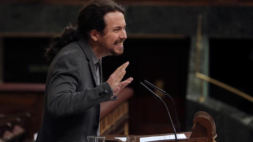 """Iglesias le pide a Rajoy """"empatía"""" con los españoles que merecen pensiones dignas"""