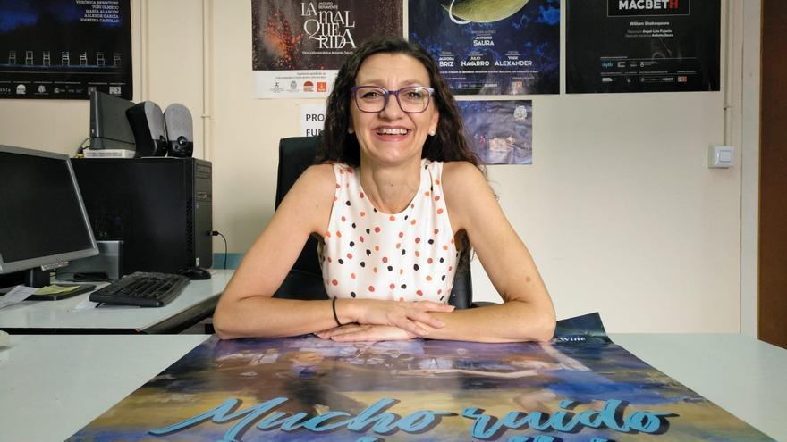 Esperanza Clares, actriz, dramaturga, docente y directora de producción en Alquibla Teatro/ J.A.F.