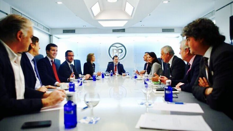 El comité de dirección del PP.