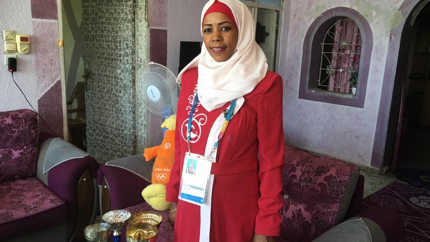 Sanaa, primera atleta palestina en unos Juegos Olímpicos