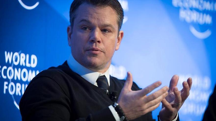 """Matt Damon: """"La crisis del agua se puede solucionar absolutamente"""""""