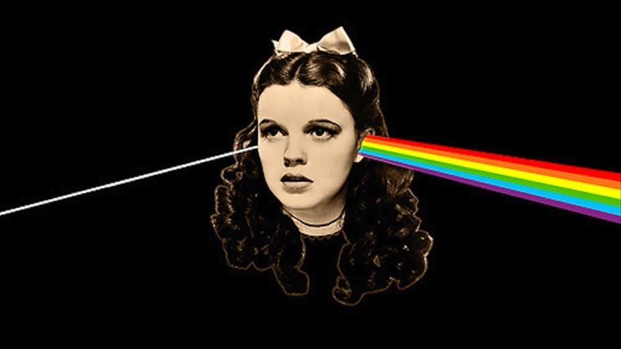 The Dark Side of the Rainbow: Pink Floyd vs. El mago de Oz