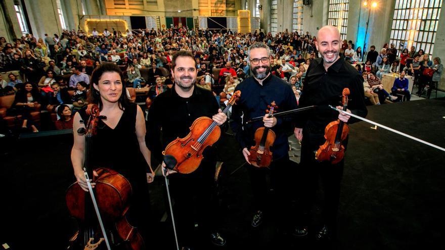 Vilabertran (Girona) se convierte en la capital del cuarteto de cuerda