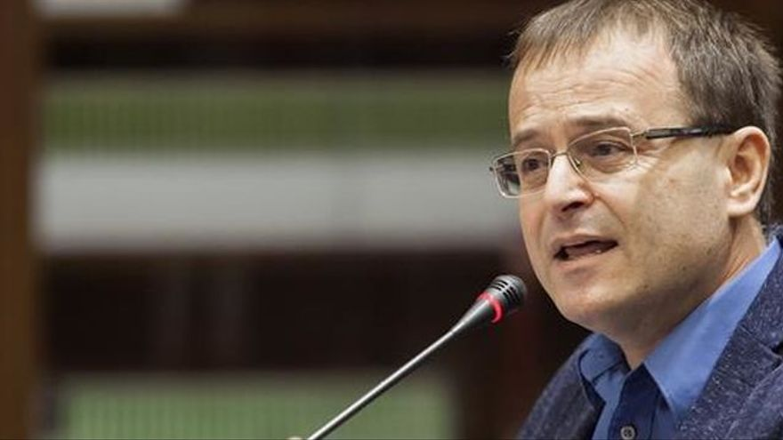 Ramón Trujillo, concejal de IUC en Santa Cruz