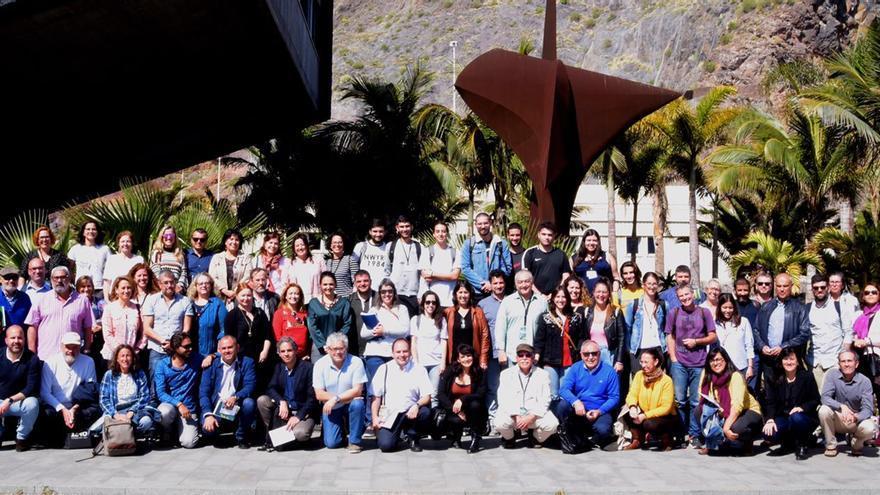 Foto de familia de la Red Canaria de Reservas de la Biosfera.