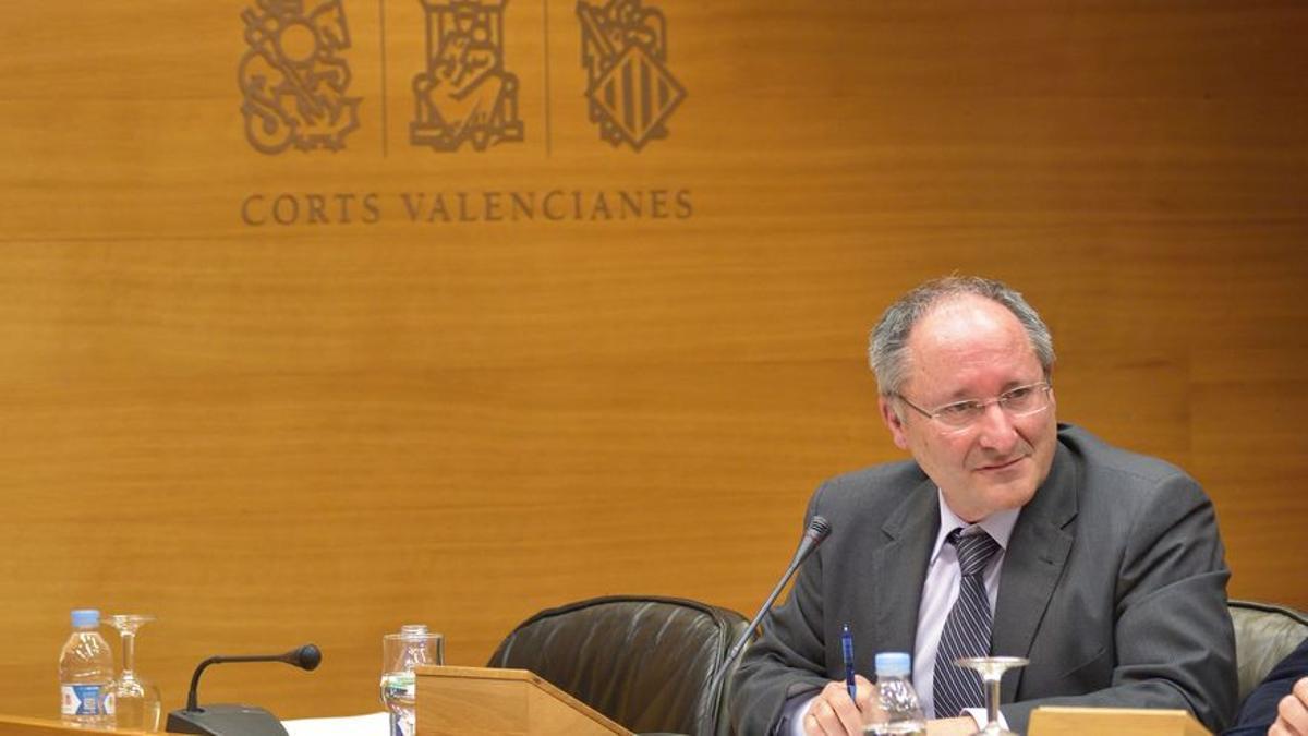 Joan Llinares, director de la Agencia Valenciana Antifraude.