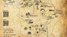 Mapa que ilustra el recorrido de la ruta