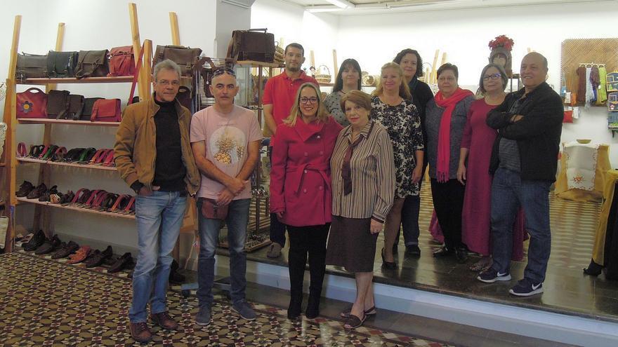 Acto inaugural de la XVI Feria de Artesanía.