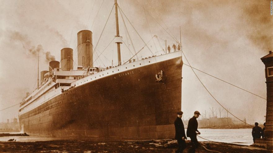El Titanic salió de Southampton el 10 de abril de 1912