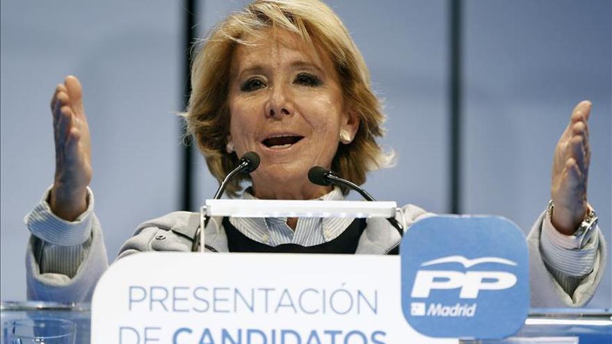 Aguirre ha pedido a Aznar que participe en su campaña