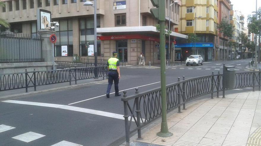 Agente de movilidad de Las Palmas de Gran Canaria