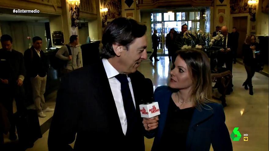 Rafael Hernando y Andrea Ropero en 'El Intermedio'