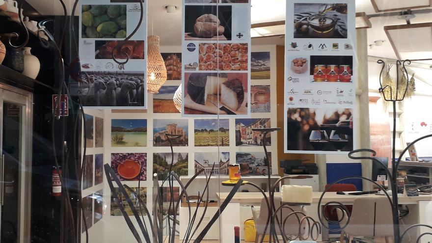 Escaparate de la Oficina de Promoción Turística de Castilla-La Mancha en Madrid FOTO: Fundación Impulsa