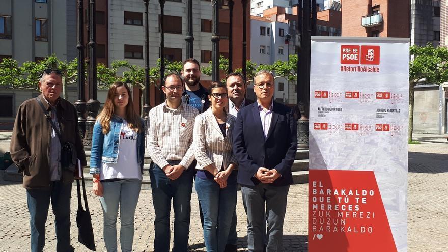 Retortillo (PSE) propone un servicio de préstamo de bicicletas eléctricas y unir tramos de bidegorri en Barakaldo