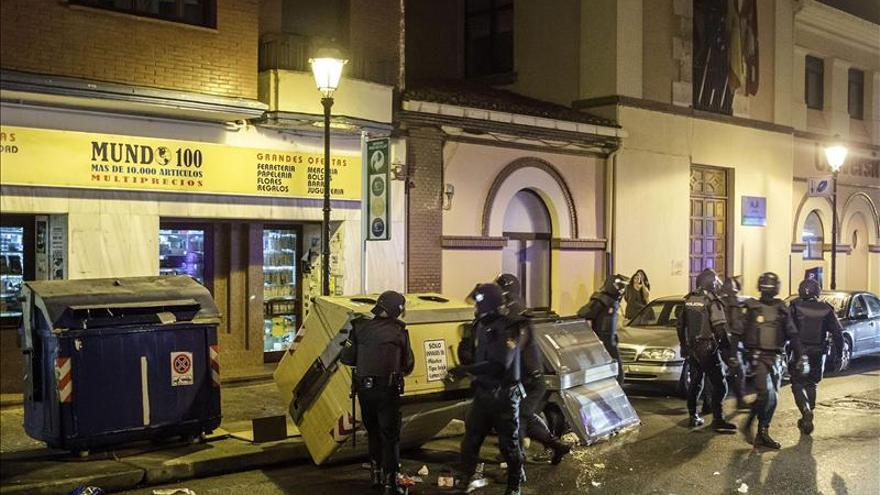 El Ayuntamiento de Burgos cifra en 20.000 euros los daños por los disturbios
