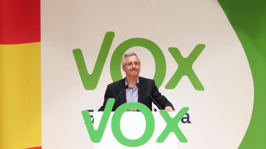 Cinco detenidos durante una concentración contra un acto de Vox en Zaragoza